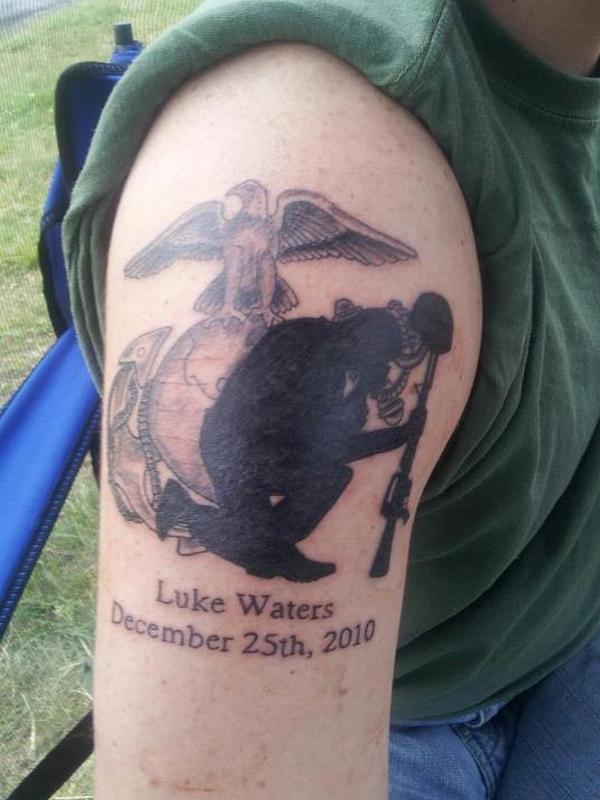 tatouage militaire 22