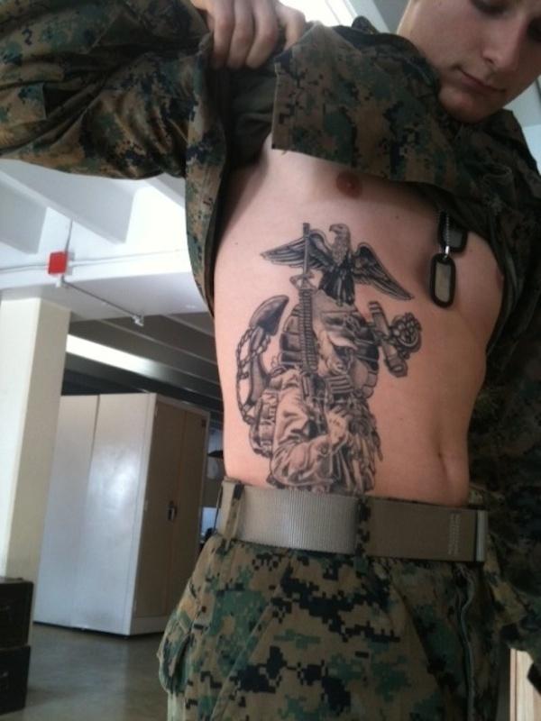 tatouage militaire 25