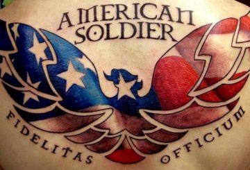 Tatouages de l'armée - Tatouages patriotiques qui vous font pleurer de fierté 2