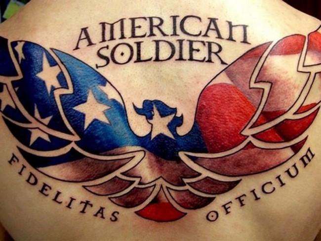 tatouages de l'armée