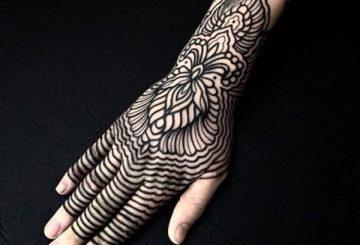 Tatouages à motifs - L'harmonie rencontre l'équilibre 3