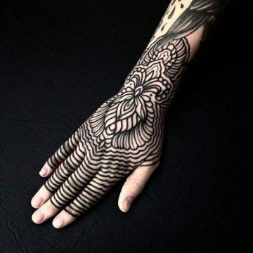 Tatouages à motifs - L'harmonie rencontre l'équilibre 64