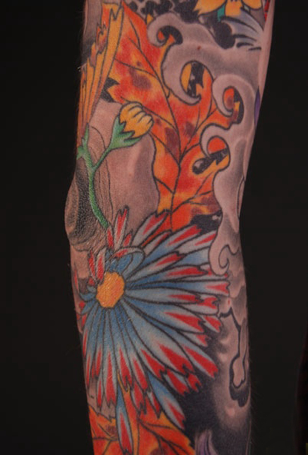 Tatouages de couleur Paul Timman