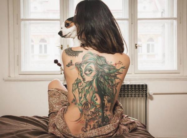 Tatouages de Petra Hlaváčková