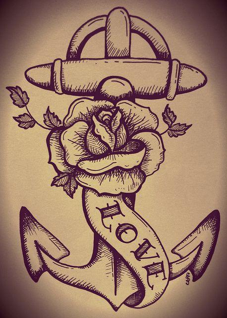 ancre de tatouage 1