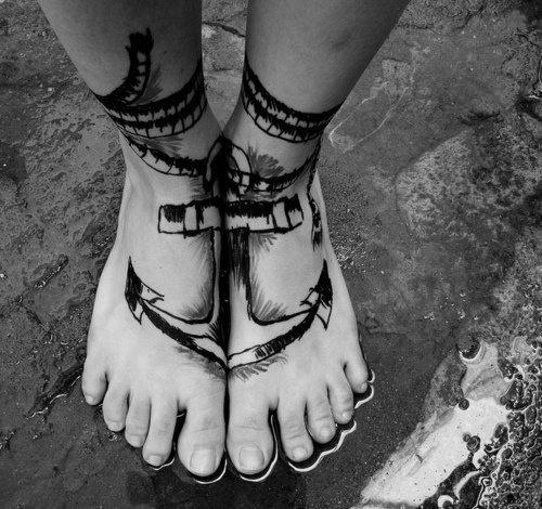 ancre de tatouage 11