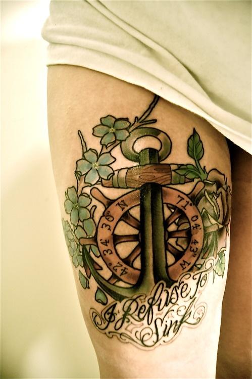 ancre de tatouage 13