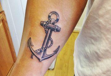 15 idées de tatouage pour l'ancre 3