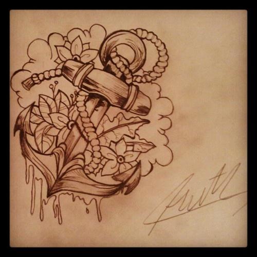 ancre de tatouage 6