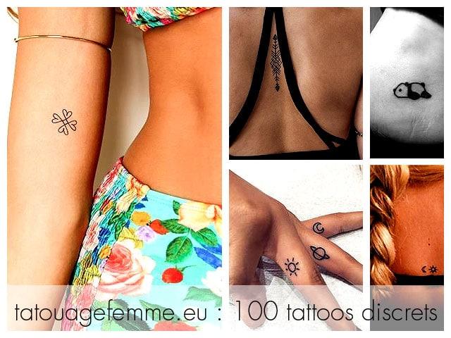 conceptions de tatouage femme discrète