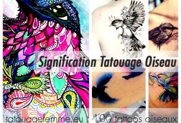 Top 80 des tatouages d'oiseaux féminins 96