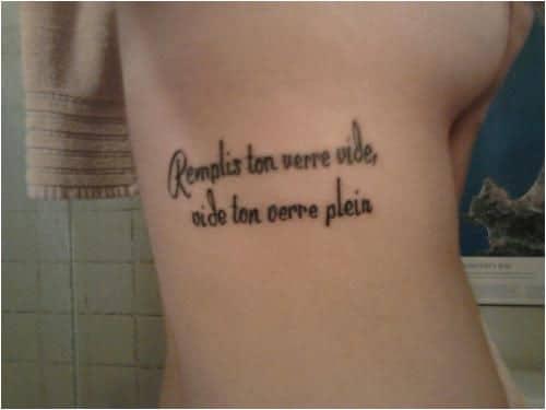 Phrase d'amour tatouage femme | acidcruetattoo 1