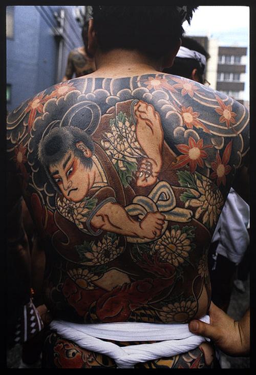 Tatouage homme japonais 10