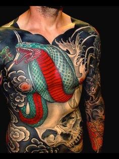Tatouages japonais homme 14
