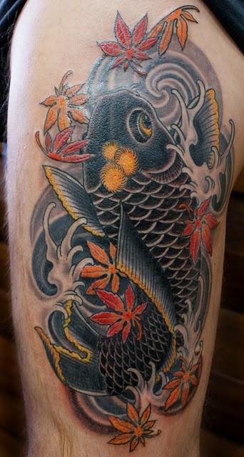Tatouage homme japonais 7