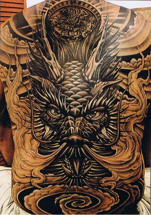 Tatouage homme japonais 9