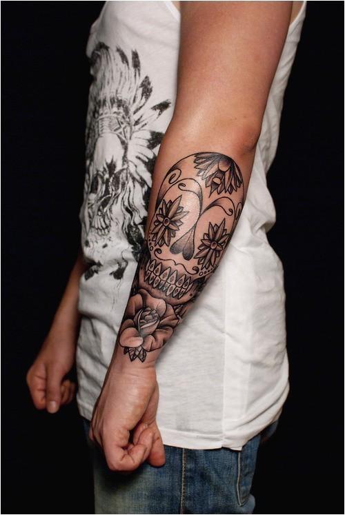 Faux bras tatouage fleur homme fleur tatouage avant-bras
