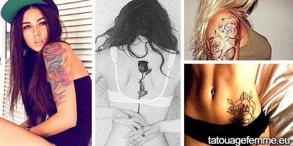 le tatouage de fleur le plus tatoué pour les femmes 1
