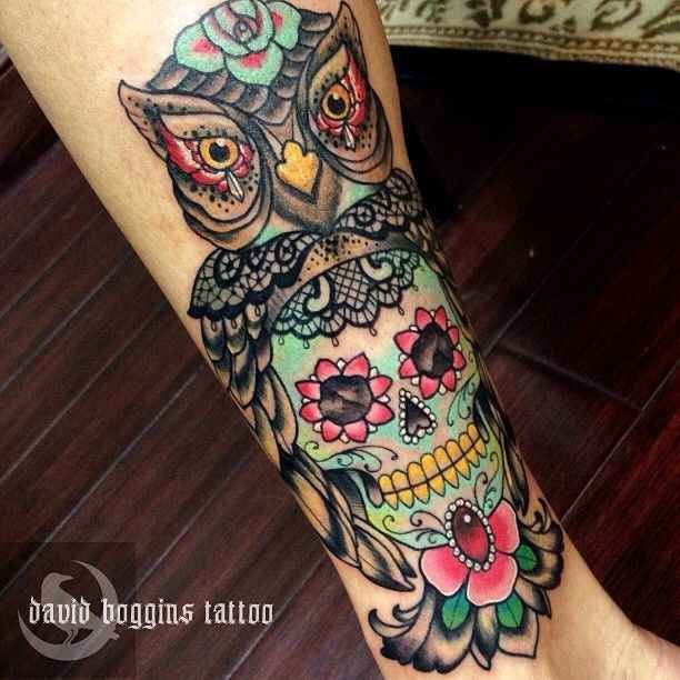 Dessins de tatouage colorés 10
