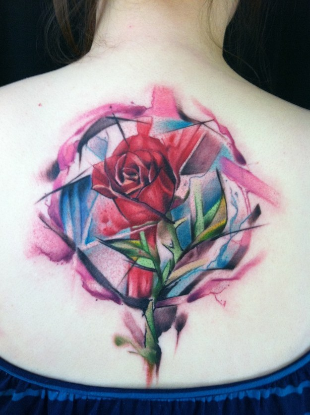 Dessins de tatouage colorés 2