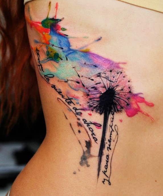 Dessins de tatouage colorés 25