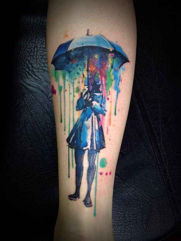 Dessins de tatouage colorés 3