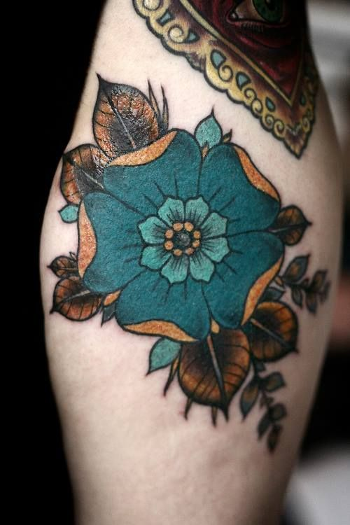Dessins de tatouage colorés 33