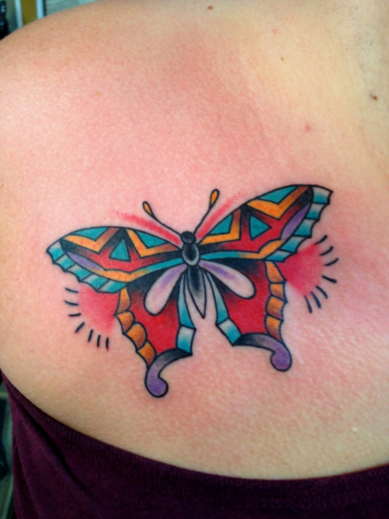 Dessins de tatouage colorés 34