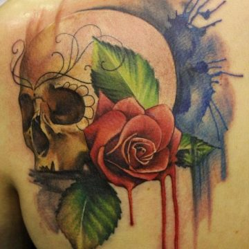 Plus de 50 designs de tatouages colorés absolument fantastiques 11