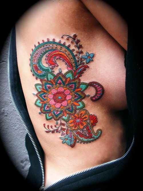 Dessins de tatouage colorés 38
