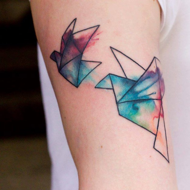 Dessins de tatouage colorés 4
