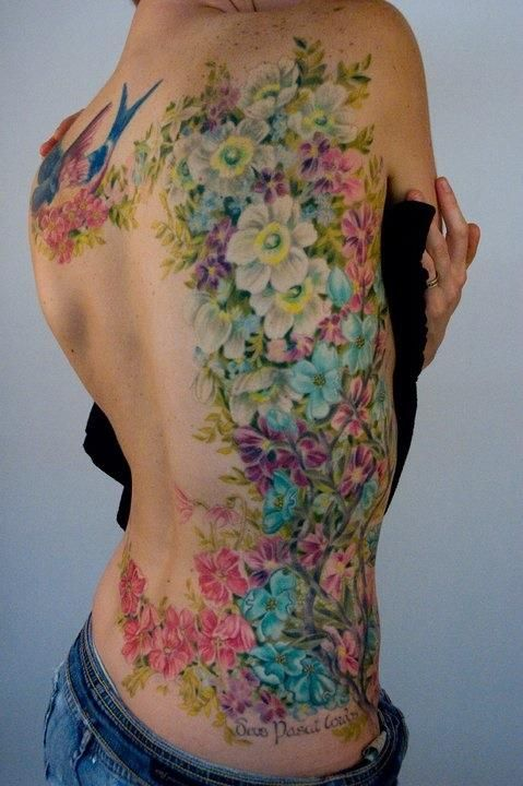 Dessins de tatouage colorés 43