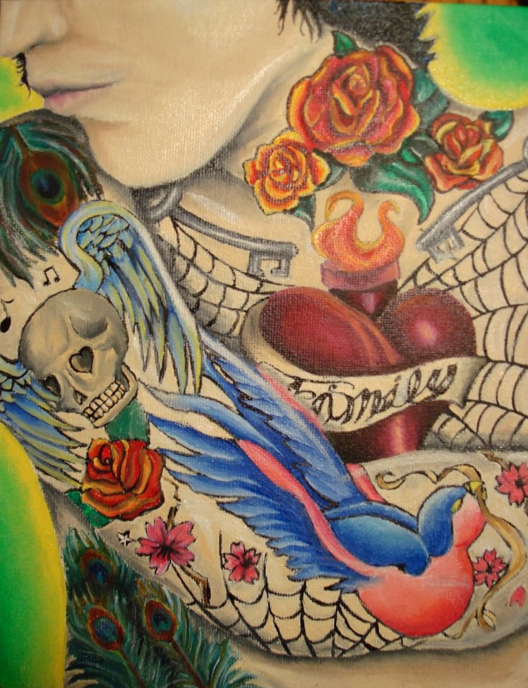 Dessins De Tatouage Colorés 44