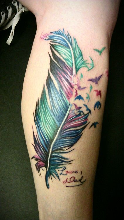 Designs De Tatouage Colorés 46