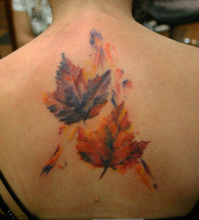 Dessins de tatouage colorés 49