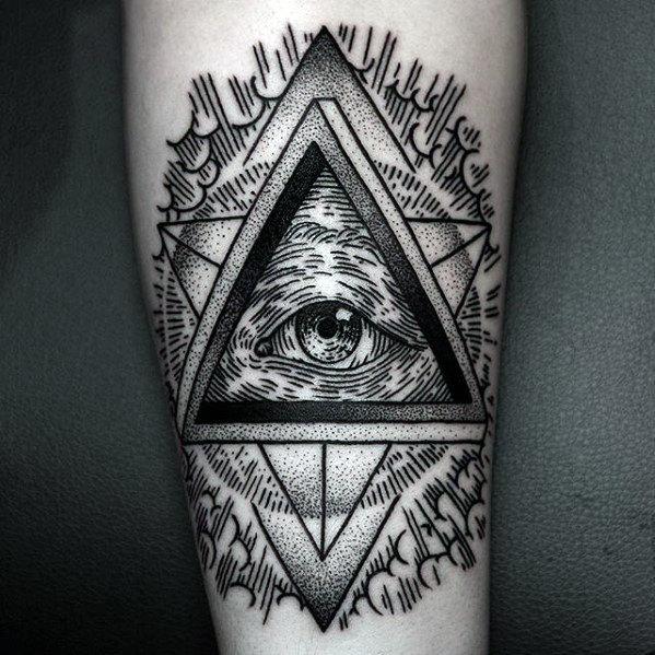 Vue de la gravure sur bois de tatouage avant-bras providence