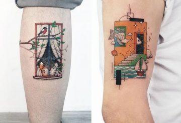 Ahmet Cambaz: 40 conceptions de tatouage phénoménales 29