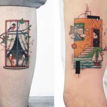 Ahmet Cambaz: 40 conceptions de tatouage phénoménales 10