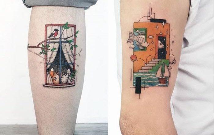 Ahmet Cambaz: 40 conceptions de tatouage phénoménales 1
