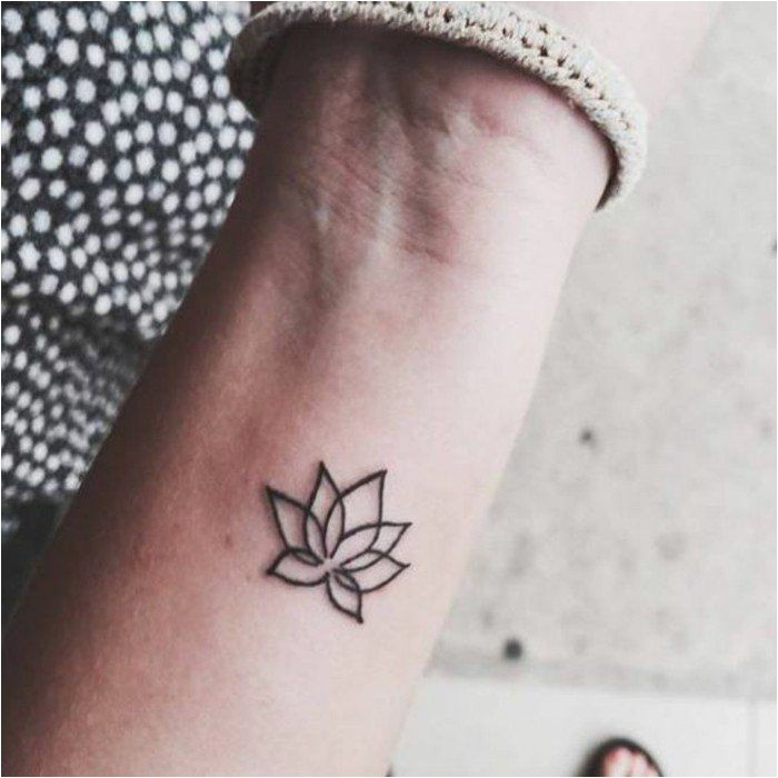Le meilleur tatouage minimaliste est votre style