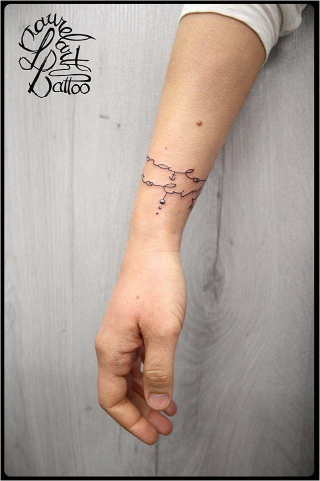 laurelarth tatouage bracelet de tatouage prénoms oiseaux étoiles 02 villefranche