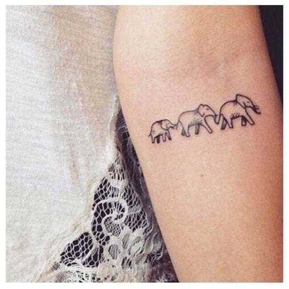 Tatouage de famille 30 tatouages pour célébrer vos racines © Pinterest Dicas de Mulher