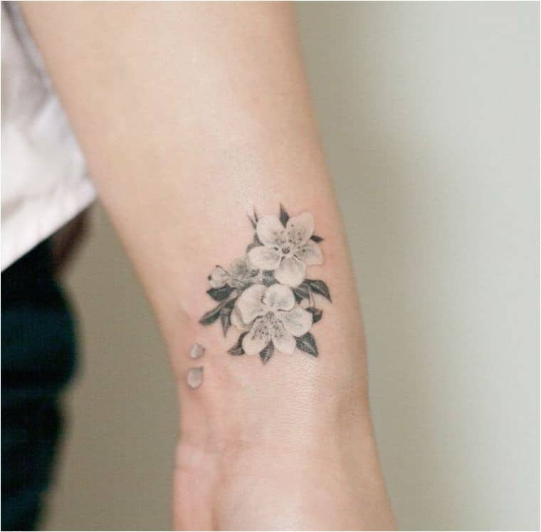Tatouage de poignet de femme japonaise Tatouage japonais connaît tous ses symboles et leurs symboles