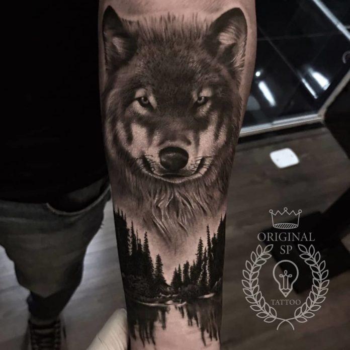 21 7-40 tatouages forestiers pour hommes