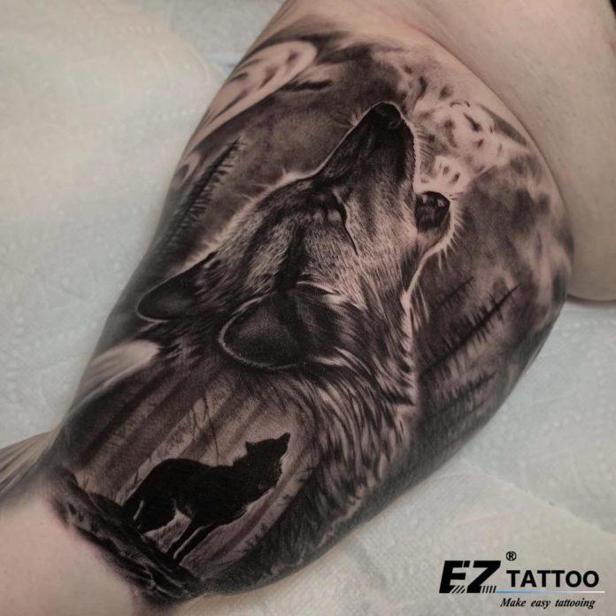 4 7-40 tatouages forestiers pour hommes