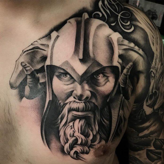 1 13-80 tatouages Viking pour hommes