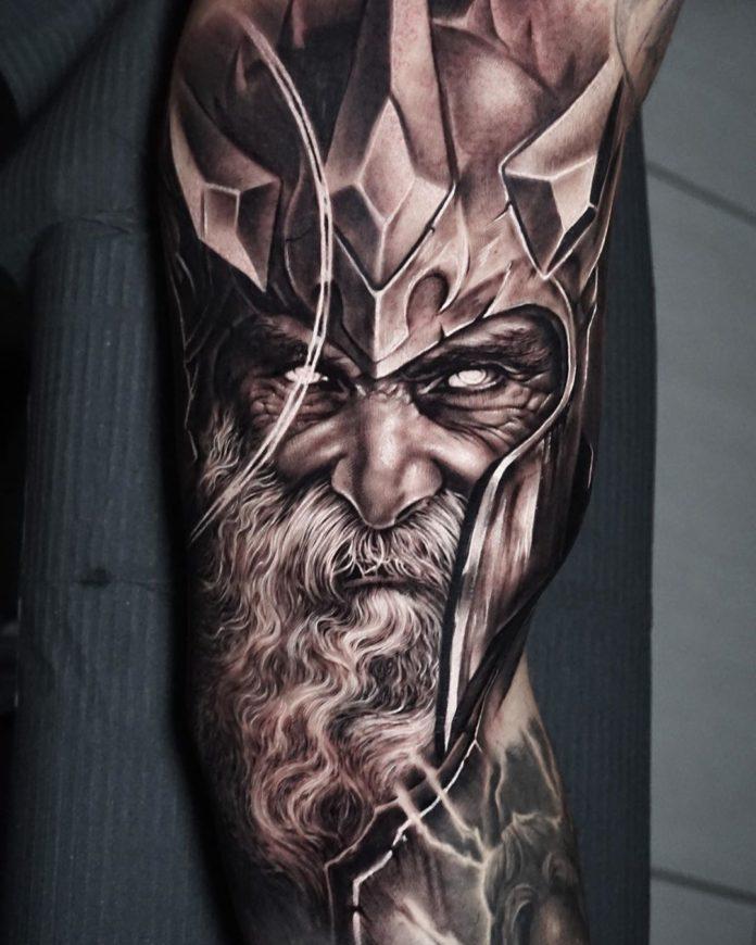 11 16-80 tatouages Viking pour hommes