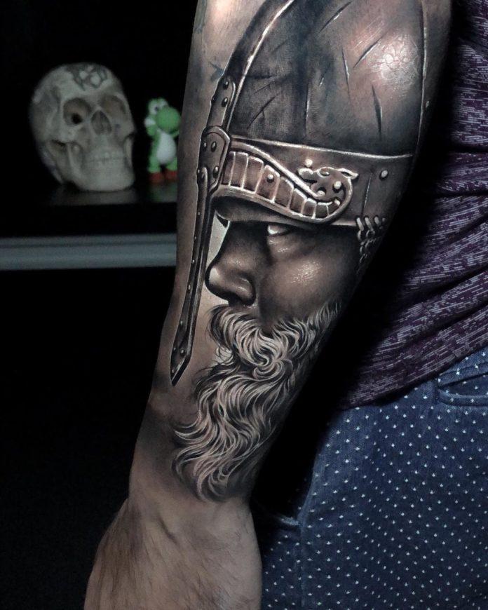 14 12-80 tatouages Viking pour hommes
