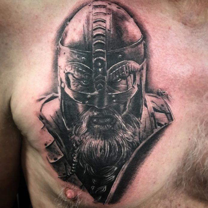 5 12-80 tatouages Viking pour hommes