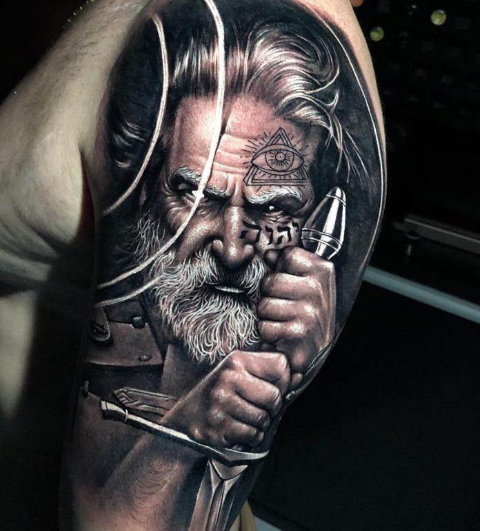 13 14-80 tatouages Viking pour hommes